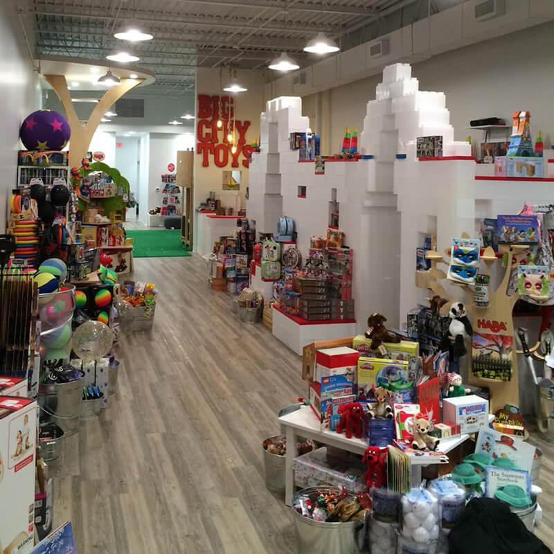 Big City Toys instore
