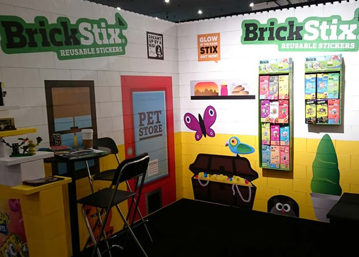 Brickstix izložbeni prostor