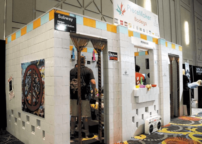 Izložbeni prostor na sajmu
