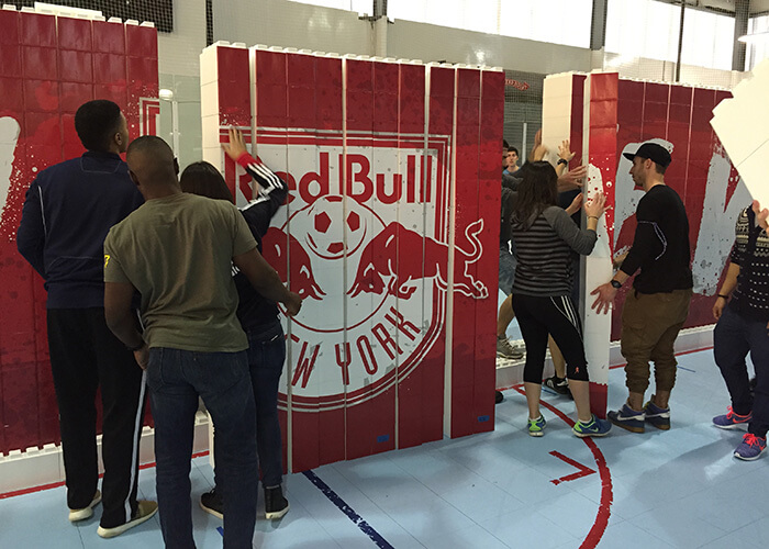 Red bull NY team building
